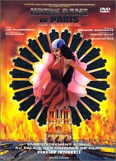 Album DVD, Musical, Notre-Dame de Paris, Victor Hugo Katedra Marii Panny w Paryżu