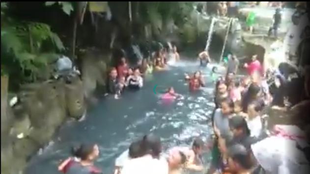 Begini Modus Pelaku yang Lecehkan Ibu-Ibu di Kolam Pemandian Air Panas Guci Tegal