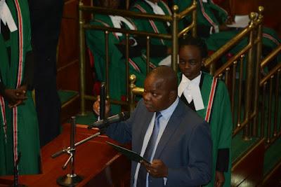 Nimrob Mbai in Parliament. PHOTO | FILE