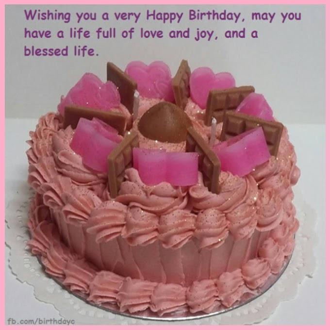 Wishing you a very Happy Birthday..