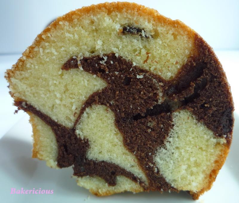 Chocolate Marble Bundt Cake Sour Cream