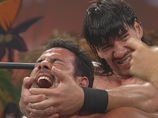 WCW Bash at the Beach 1998 Review: Eddie Guerrero hurts nephew Chavo Guerrero