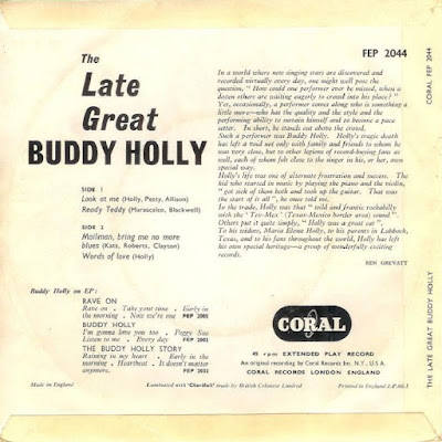 The Late Great Buddy Holly EP (1960)