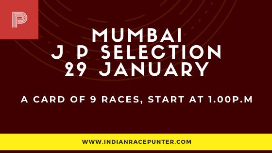 Mumbai Jackpot Selections 29 January