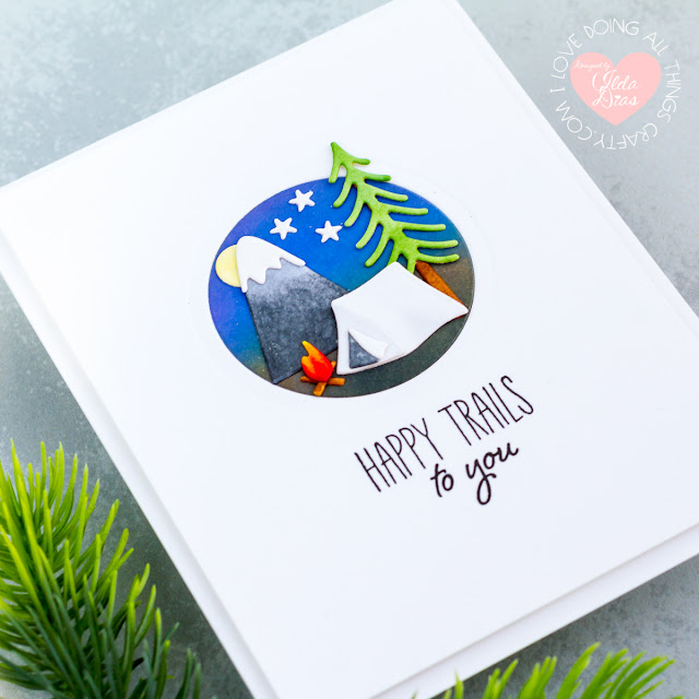 Scenic Snapshot Clean and Simple Cards | Spellbinders by ilovedoingallthingscrafty.com