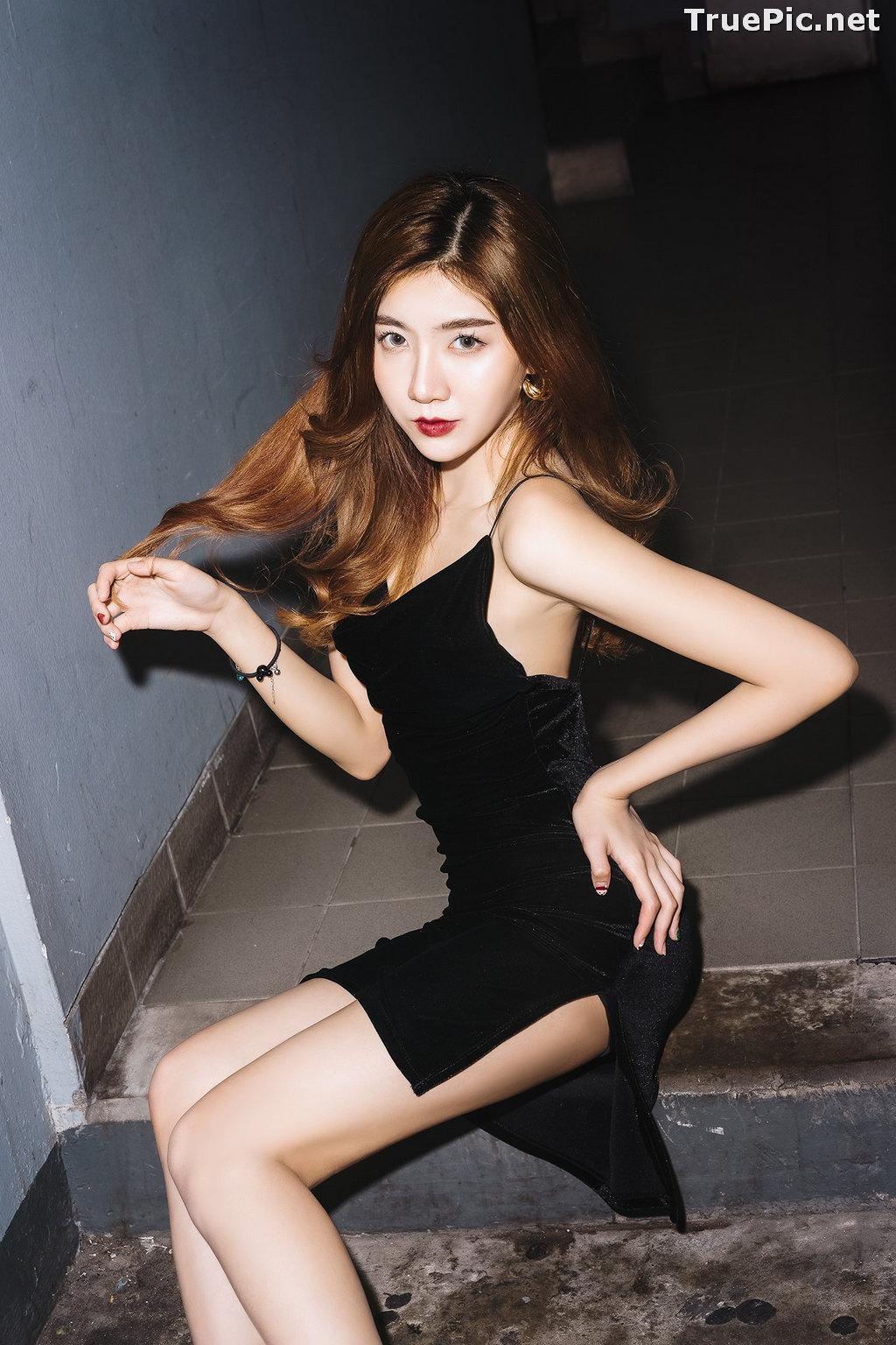 Image Thailand Model - Sasi Ngiunwan - Black For SiamNight - TruePic.net - Picture-37