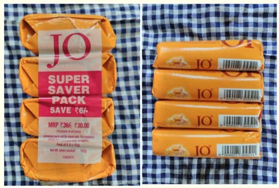 Jo soaps - pack of 4