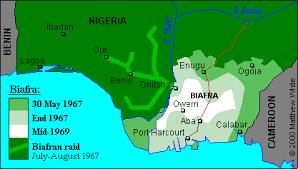 Biafra: TEN PROPAGANDA ORCHESTRATED BY THE LAGOS-IBADAN MEDIA AGAINST BIAFRA. Biafra-territory-03