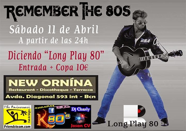Flyer Remember The 80s