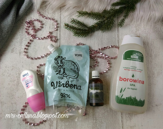 isana dezodorant z rossmanna