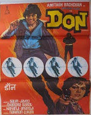 POSTER OF FILM DON