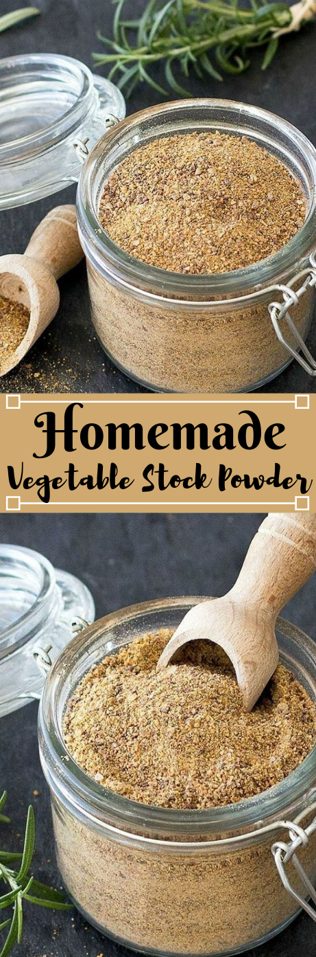 HOMEMADE VEGETABLE STOCK POWDER #vegetable #homemade #easy #breakfast #food