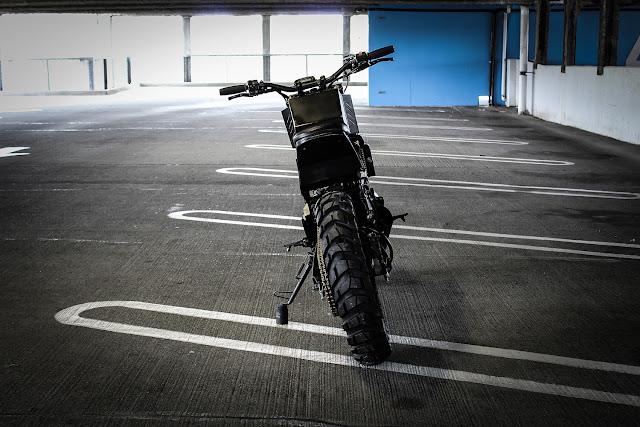 Kawasaki Ninja 250R By Droog Moto Hell Kustom