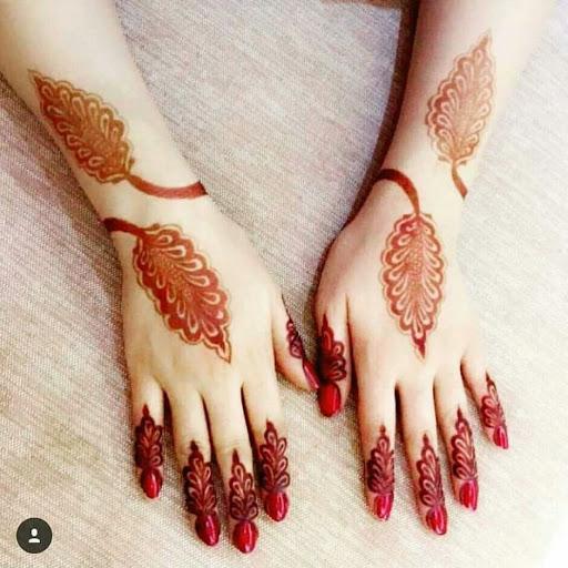 Image result for nail mehndi