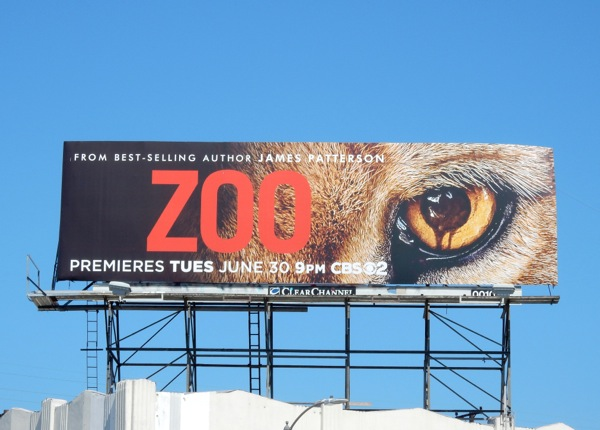 Zoo series premiere billboard