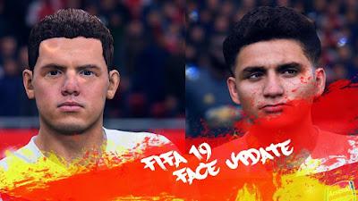 FIFA 19 Faces Lucas Torreira by CrazyRabbit
