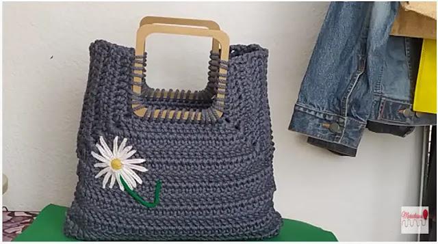Aprende a Tejer Bolso a Crochet