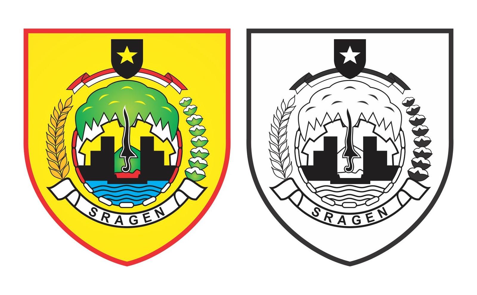 Desain Vector Download Logo Kabupaten Sragen Corel Draw