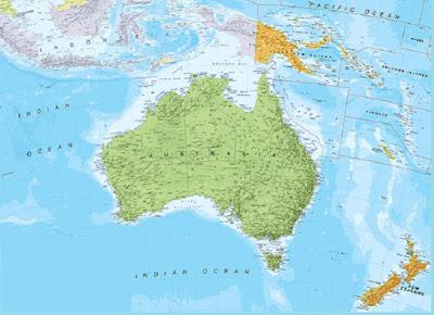 Keuntungan Letak Geografis Australia