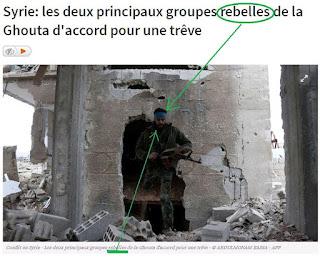 """Syrie: les deux principaux groupes """"rebelles"""" de la Ghouta"""