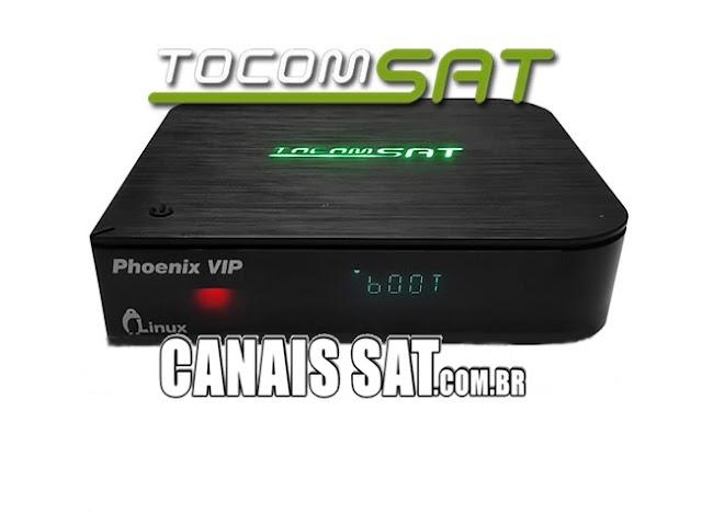 Tocomsat Phoenix VIP Atualização Modificada 75w ON - 08/03/2021