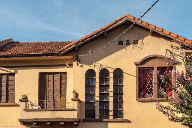 Casa na Rua Paula Gomes - detalhe
