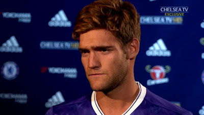 After completing his move to the Blues from Fiorentina, Spanish defender Marcos Alonso sat down with the club's official website to conduct his first interview as a Chelsea player.