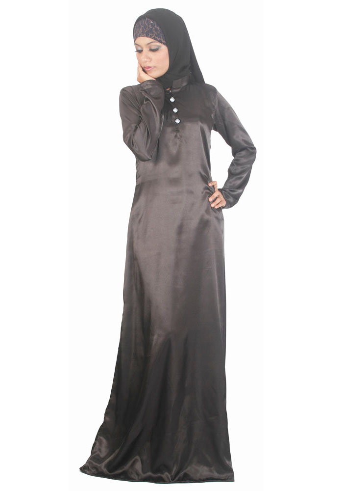 Everything For Women Fashion: 10+ Latest Silk Abayas For