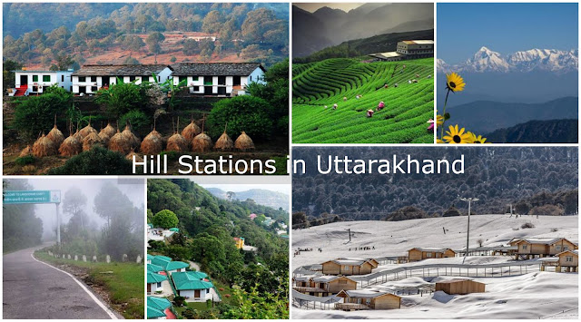 Hill Stataions in Uttarakhand