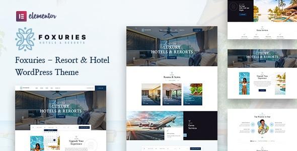 Resort & Hotel WordPress Theme