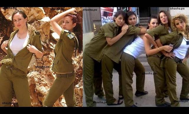 """ما هو السر وراء قيام """"إسرائيل"""" بالتجنيد الإجباري للنساء؟!  الوحيدة بالعالم التي تجند النساء اجباريا..وتكتم كبير عن التفشي الجنس في صفوف جيشها"""