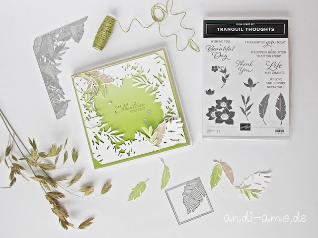Stampin Up Tranquil Thoughts Verborgene Schönheit