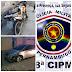 Jovem é detido por embriaguez ao volante, direção perigosa e danos ao patrimônio público e privado em Sanharó, PE