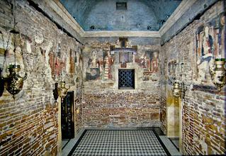 Le tre pareti originali della Santa Casa di Nazareth a Loreto