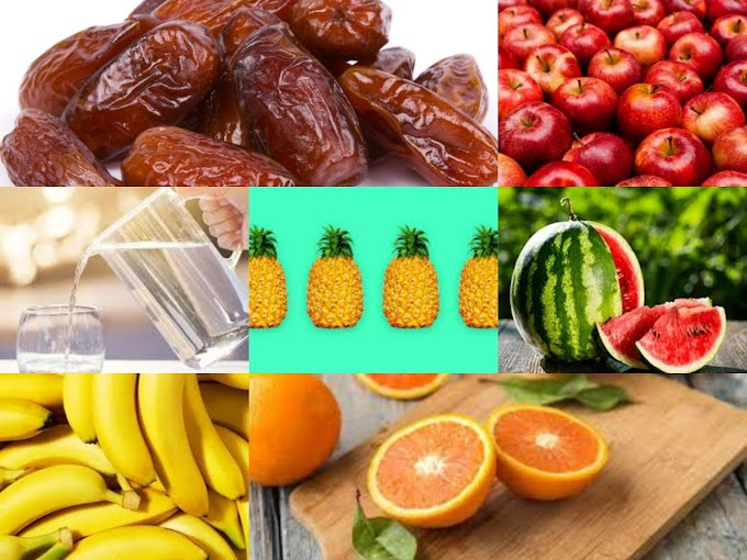 7 best fruit recommended to be used during break of fasting (iftar).