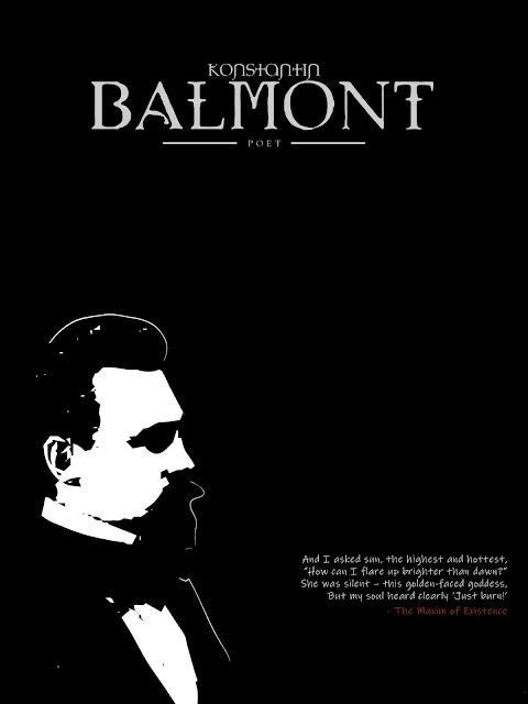 Art Poster - Konstantin Balmont