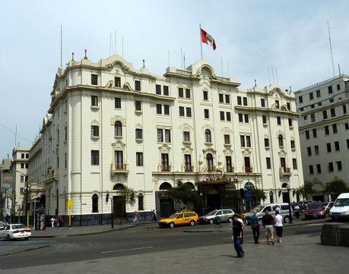 hoteles embrujados Hotel Bolivar