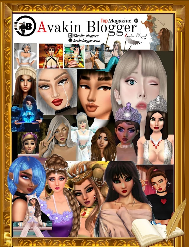 Avakin Cute Girls Magazine - Fashion Models