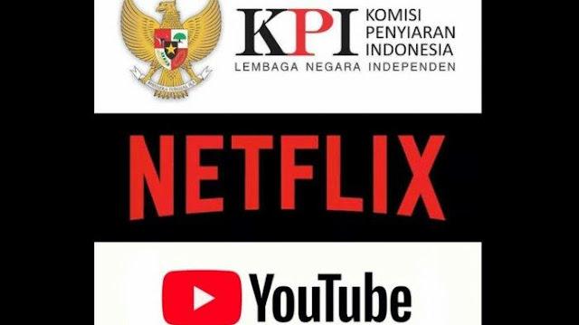 Dipertanyakan, Kewenangan KPI Awasi Netflix dan YouTube