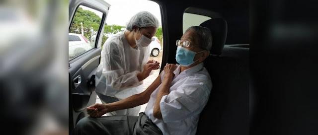 Secretaria de Saúde convoca idosos e profissionais de saúde para receber 2ª dose da vacina contra COVID-19