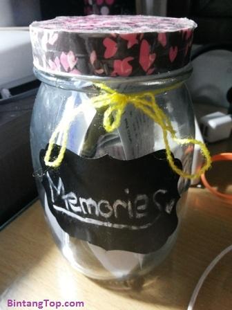 Cara Membuat Botol Kenangan / Toples Memory