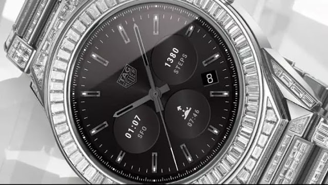 TAG Heuer modular 45 full diamond