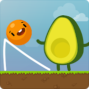 Where's My Avocado? Draw lines Unlimited Coins MOD APK