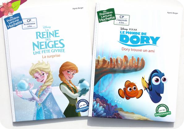 Collection Mes Premières Lectures Hachette :  La Reine des Neiges - Une fête givrée & Le Monde de Dory - Dory trouve un ami
