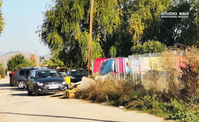 Αστυνομική επιχείρηση σε καταυλισμούς Ρομά στη Νέα Κίο Αργολίδας