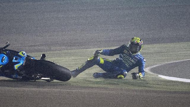 Andai Tidak Crash, Iannone Yakin Bisa Naik Podium