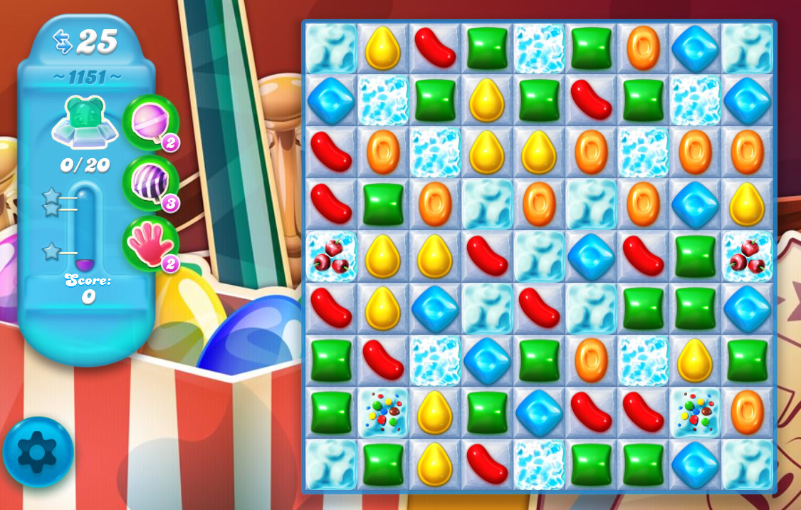 Candy Crush Soda Saga level 1151