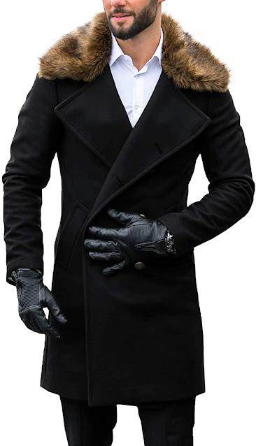 Best Faux Fur Collar Coats Jackets For Men