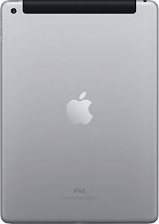 apple tablet back view