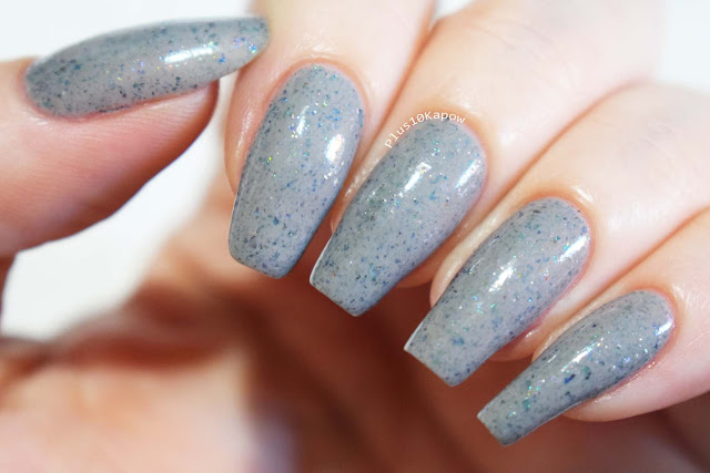 Dystopia Nail Polish Samhain Collection Swatches Cerridwen the Crone